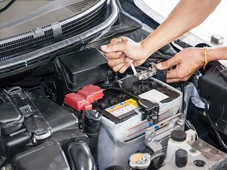 Automotive Battery delivery and installation service