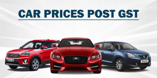 Image That Represents The Car Prices Post GST Concept.